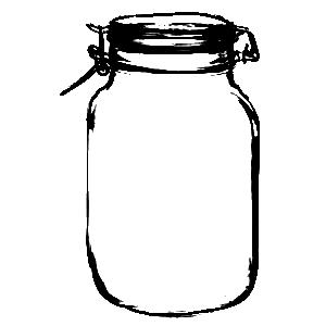 Sweetly Scrapped More Mason Jars Honey Jars And More Mason Jar Clip Art Honey Jar Mason Jars