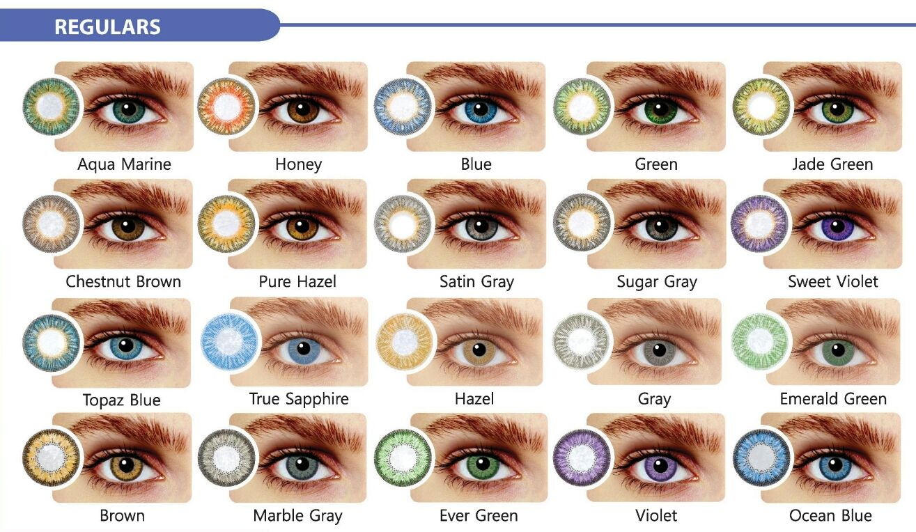 Best Natural Contact Lenses For Dark Eyes