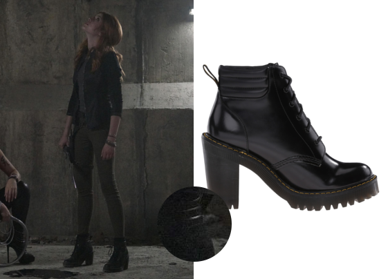Shadowhunters 2×04 Clary's Dr. Martens Boots | outfitsleuth