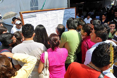 Nezahualcóyotl, Méx. 15 Mayo 2013. Después de la educación,  la mejor forma de abatir la delincuencia es generando empleos.