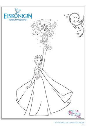 Disney Malvorlagen Eiskönigin