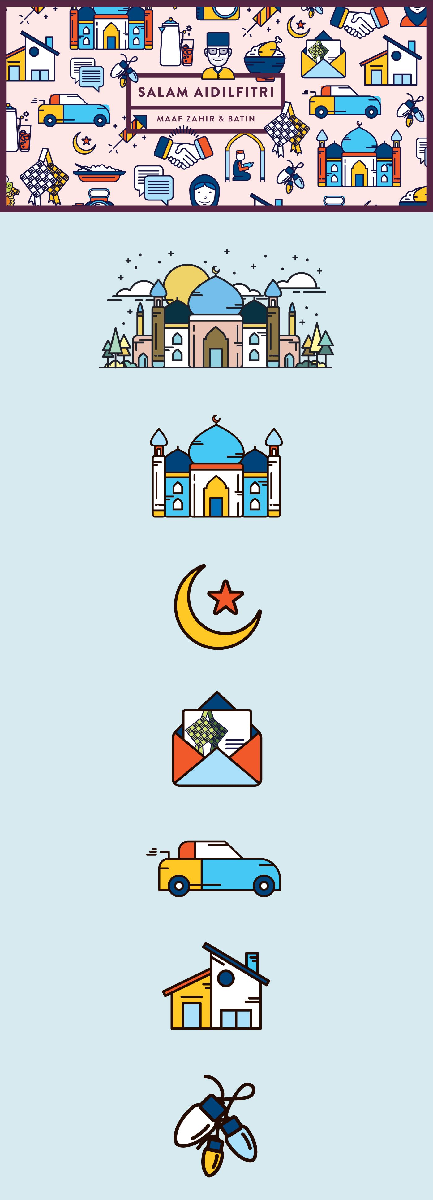 Marking The End Of The Islamic Holy Month Of Ramadan Is