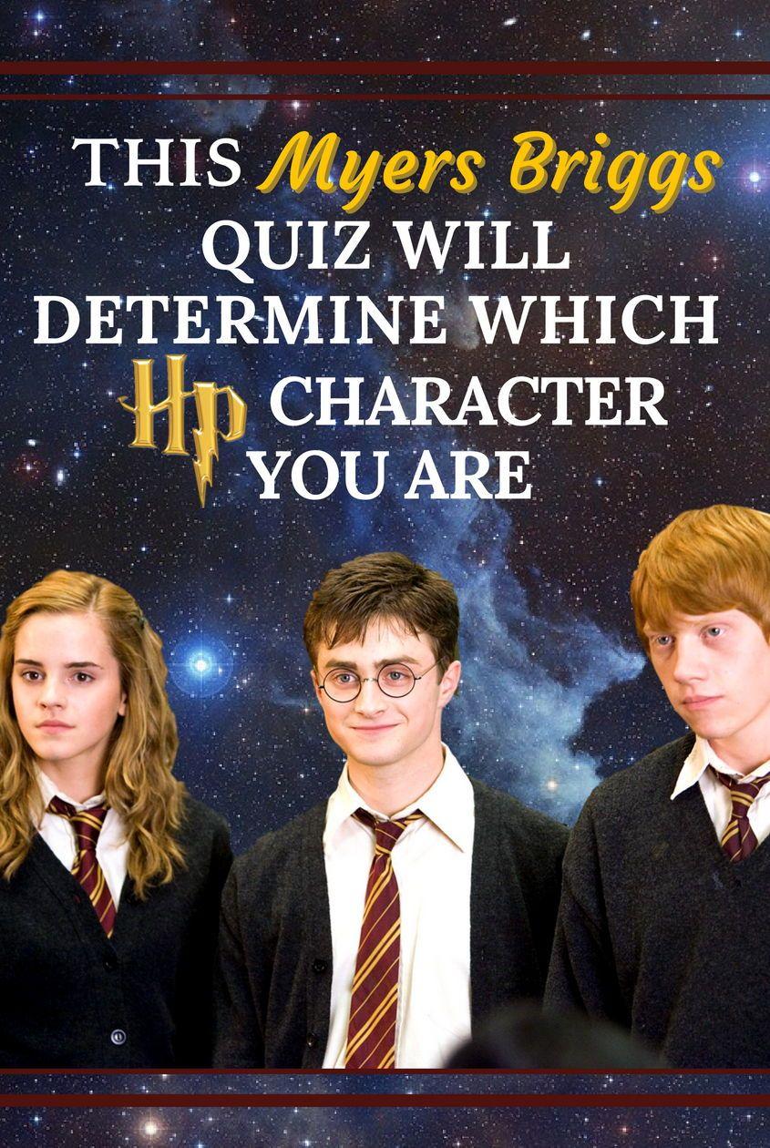 Quiz: This Myers Briggs Quiz Will Determine Which HP