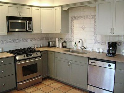 Kitchen Cabinets Ideas » Grey Green Kitchen Cabinets - Inspiring