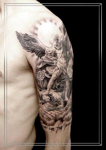 angel gabriel tattoos 1000 ideas about archangel tattoo on pinterest saint michael tattoos. Black Bedroom Furniture Sets. Home Design Ideas