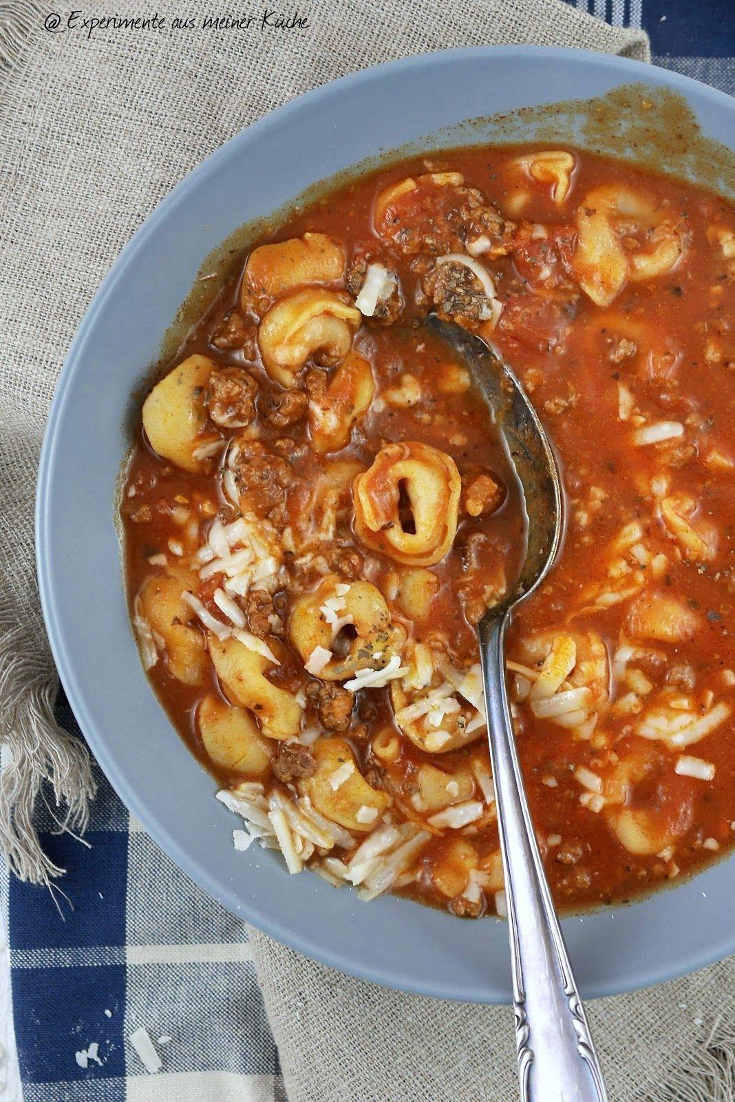 Tortellini Suppe Experimente Aus Meiner Kuche Tortellini Suppe Tortellini Suppe Rezepte Experimente Aus Meiner Kuche