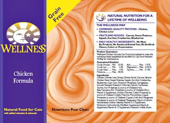 Wellness Pet Food Voluntarily Recalls Various Canned Cat Food