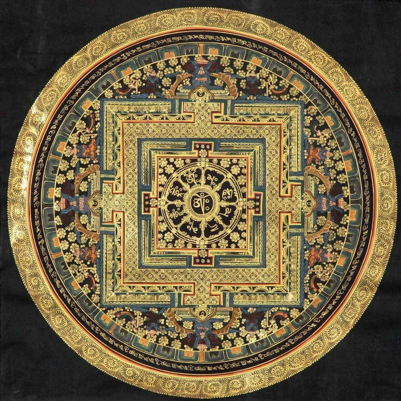 Pin By Thangka Mandala Art On Mandala Tibetan Mandala Thangka