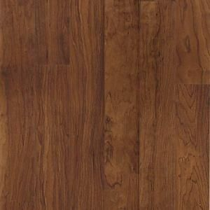 Hampton Bay Tuscan Red Cherry 8mm Thickness X 4 7 8 In Width X 47 1 4 In Length Laminate Flooring 19 13 Sq Laminate Flooring Flooring Wood Laminate Flooring