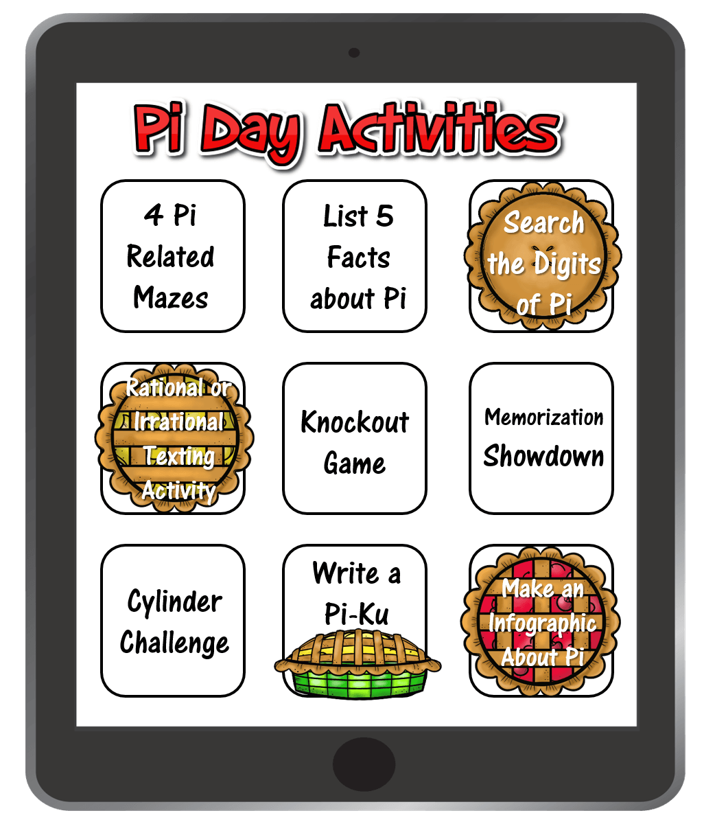 9 Easy Activities To Celebrate Pi Day