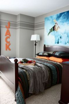 +41 Why People Aren't Talking About Gray Bedroom With Pop Of Color For Teens Accent Walls 62 #graybedroomwithpopofcolor +41 Why People Aren't Talking About Gray Bedroom With Pop Of Color For Teens Accent Walls 62 #graybedroomwithpopofcolor