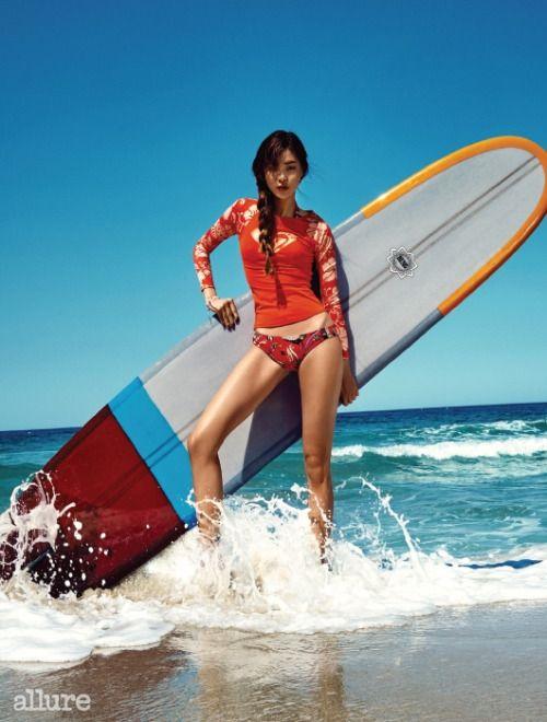 Koreanmodel Lee Sun Jeong By Ahn Joo Young For Glamour Photo Swimwear Uk Fashion Beauty Photography