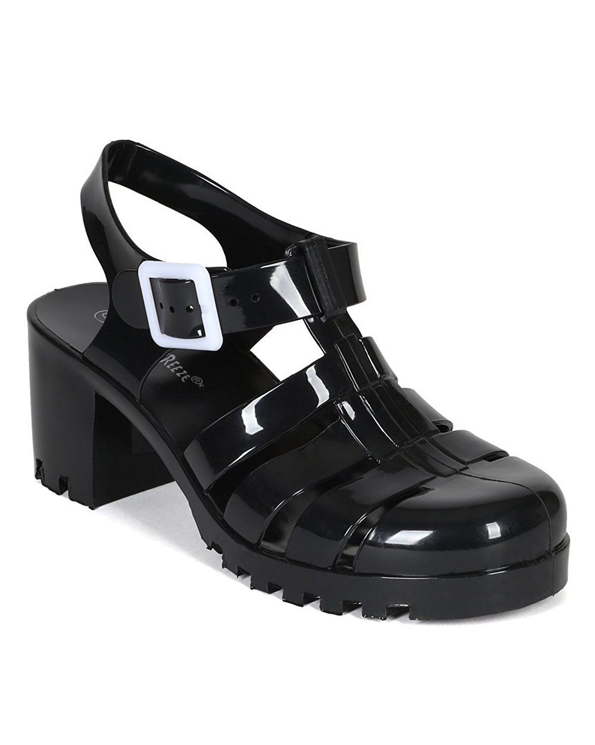 980a6b54aa8f RANEE Caged Heeled Jelly Sandal     For more information