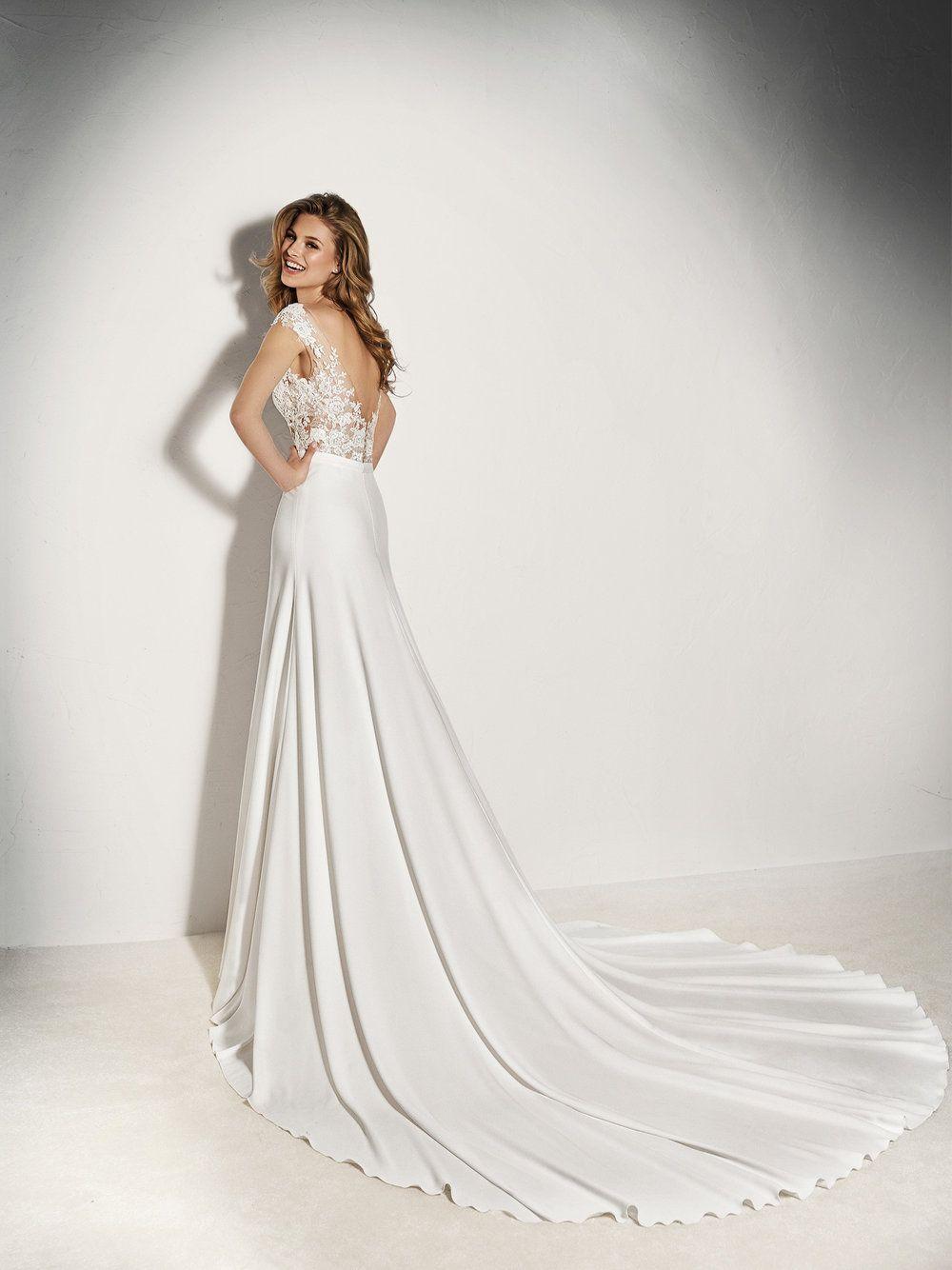 Pronovias Xenine Bodysuit Vestido De Casamento Vestido De