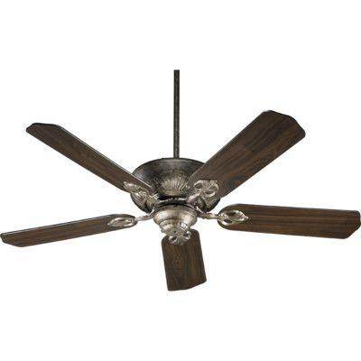 """Quorum 78525-58 Ceiling Fans 52"""" Chateaux 5 Blade Ceiling Fan"""