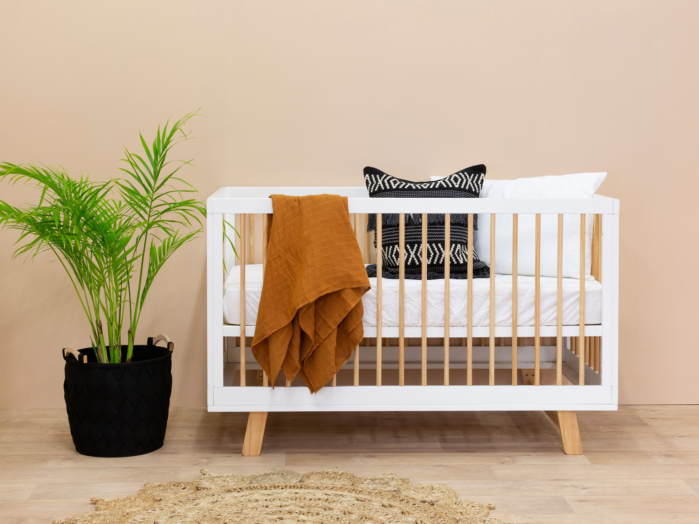 The Aspen Cot Offers Quality Modern Nursery Furniture All At