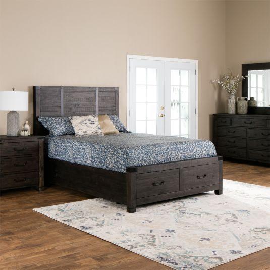 Jeromes Bedroom Sets   Abington Storage Bedroom Collection Jerome S Furniture Bedroom
