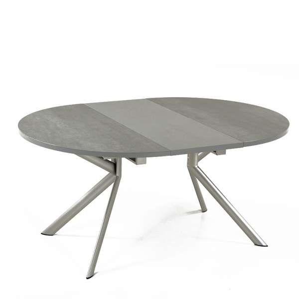 Table Ronde Extensible En Ceramique Giove Connubia Table Ronde Extensible Table A Rallonge Table Ronde Ikea