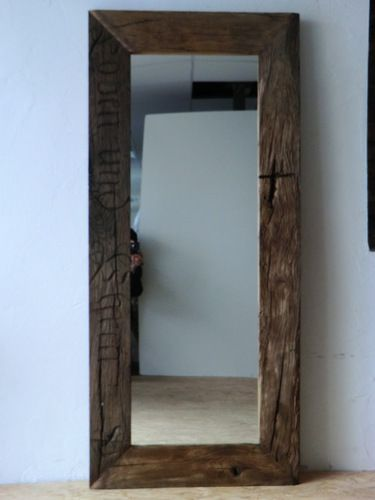 Spiegel Aus Historischen Eichenbalken Spiegel Holz Wandspiegel Wandspiegel Holz