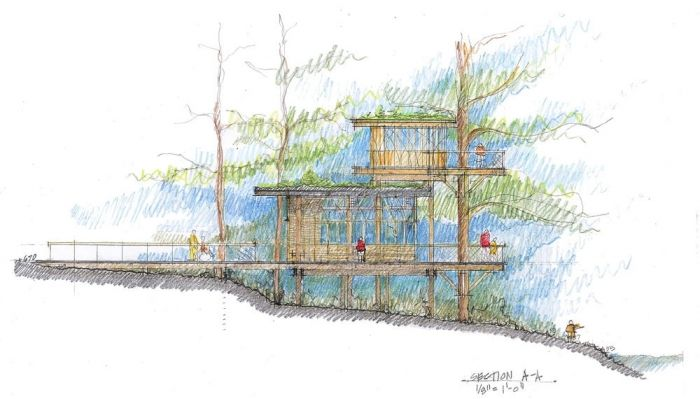Landscape Architecture Section Drawings landscape section drawing - google search | landscape sections