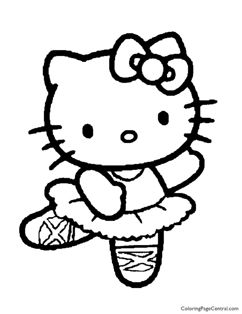 Hello Kitty Doctor Coloring Page Kitty Coloring Hello Kitty Coloring Hello Kitty Colouring Pages