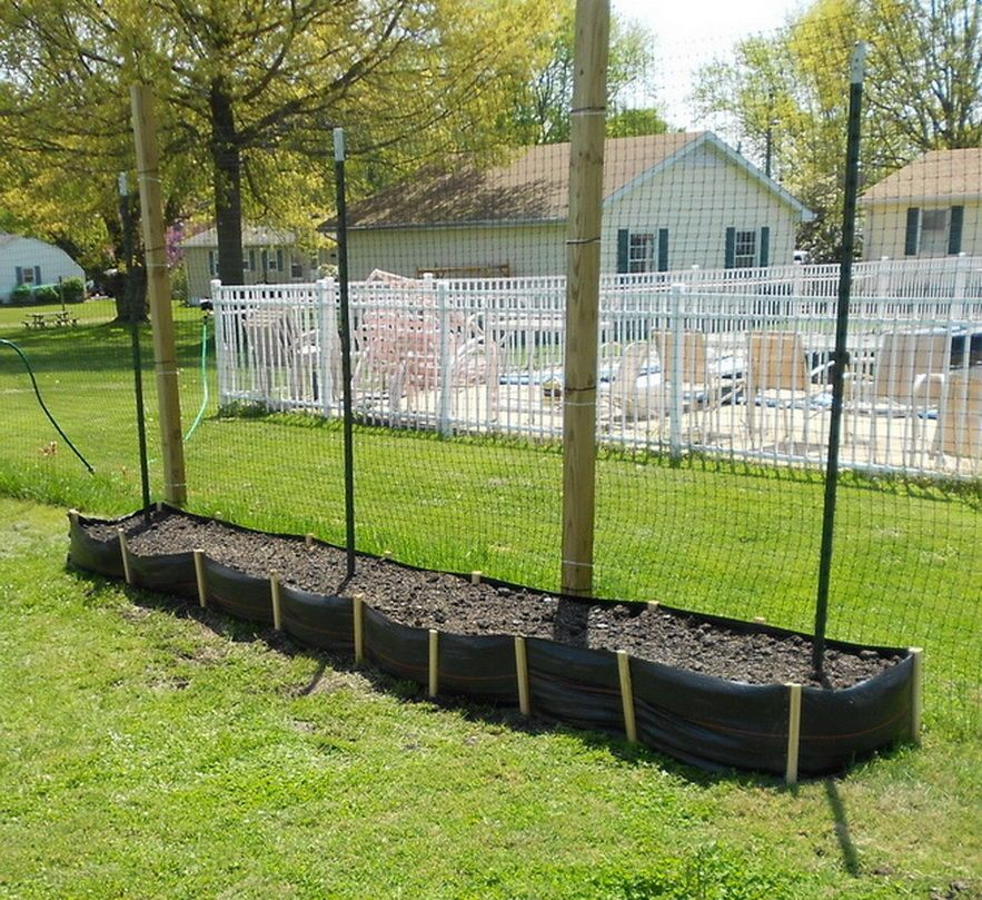 Cheap And Easy Silt Fencing Raised Garden Beds Vegetable Garden Raised Beds Garden Beds Raised Garden Beds