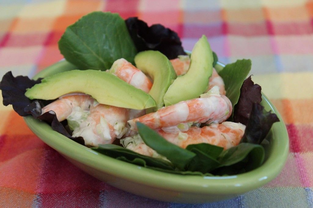 Easy Shrimp Salad Recipe with Avocado