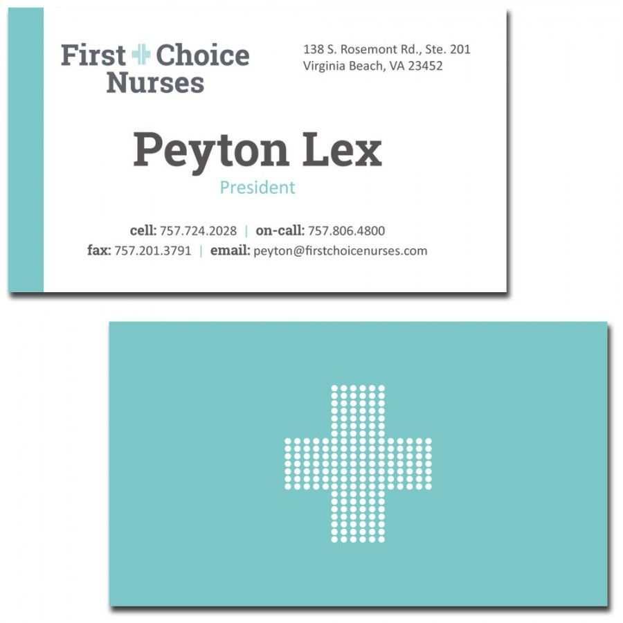 Make Your Custom Business Cards Virginia Beach Template Design