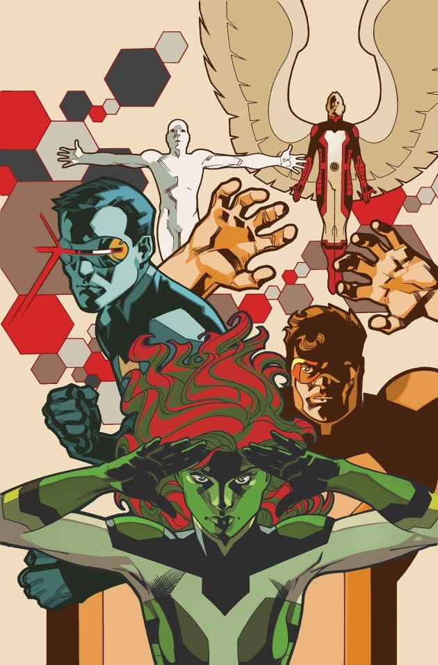 All-New X-Men #25 cover by Stuart Immonen