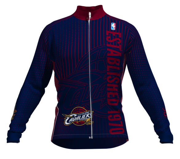 Cleveland Cavaliers Retro Long Sleeve Cycling Jersey. FREE Shipping at  http   www 9e4681227