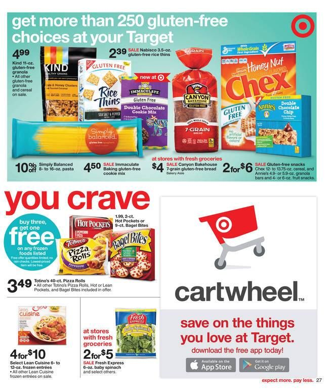 Have you seen this? Target now features over 250 # ...
