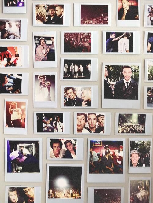 One Direction Polaroid Collage Google Search One