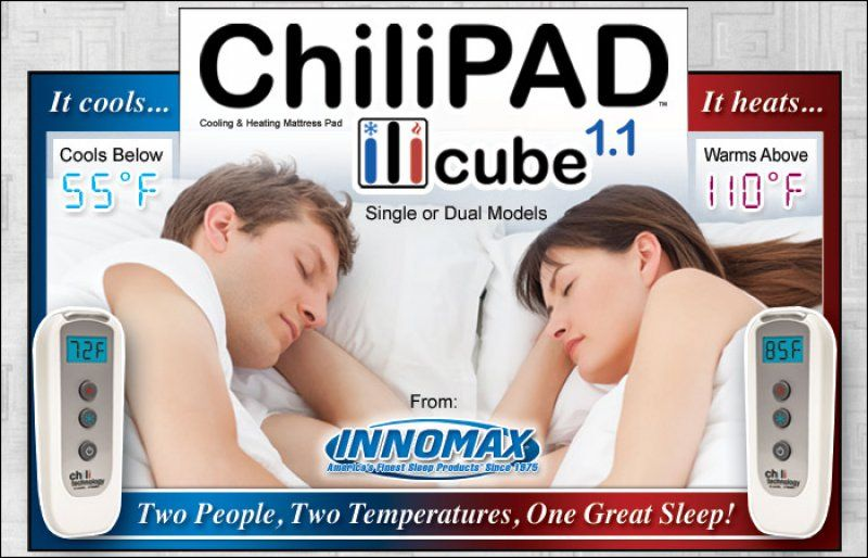 Innomax Chilipad Cube 1 1 A Cooling Amp Heating Mattress