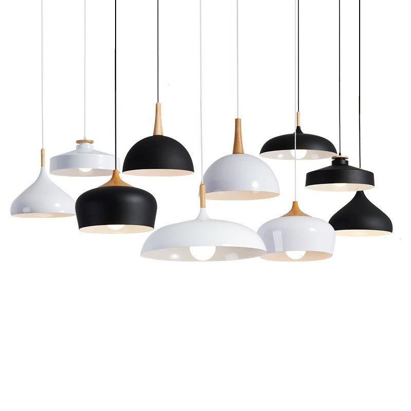 Led Lampes Suspendues Pendentif Lampes Moderne Hanglamp Aluminium