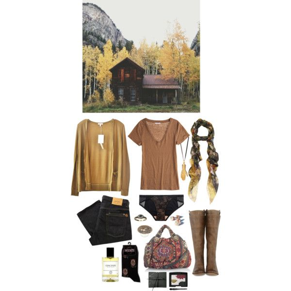 """In the last autumn"" by ghoulnextdoor on Polyvore"