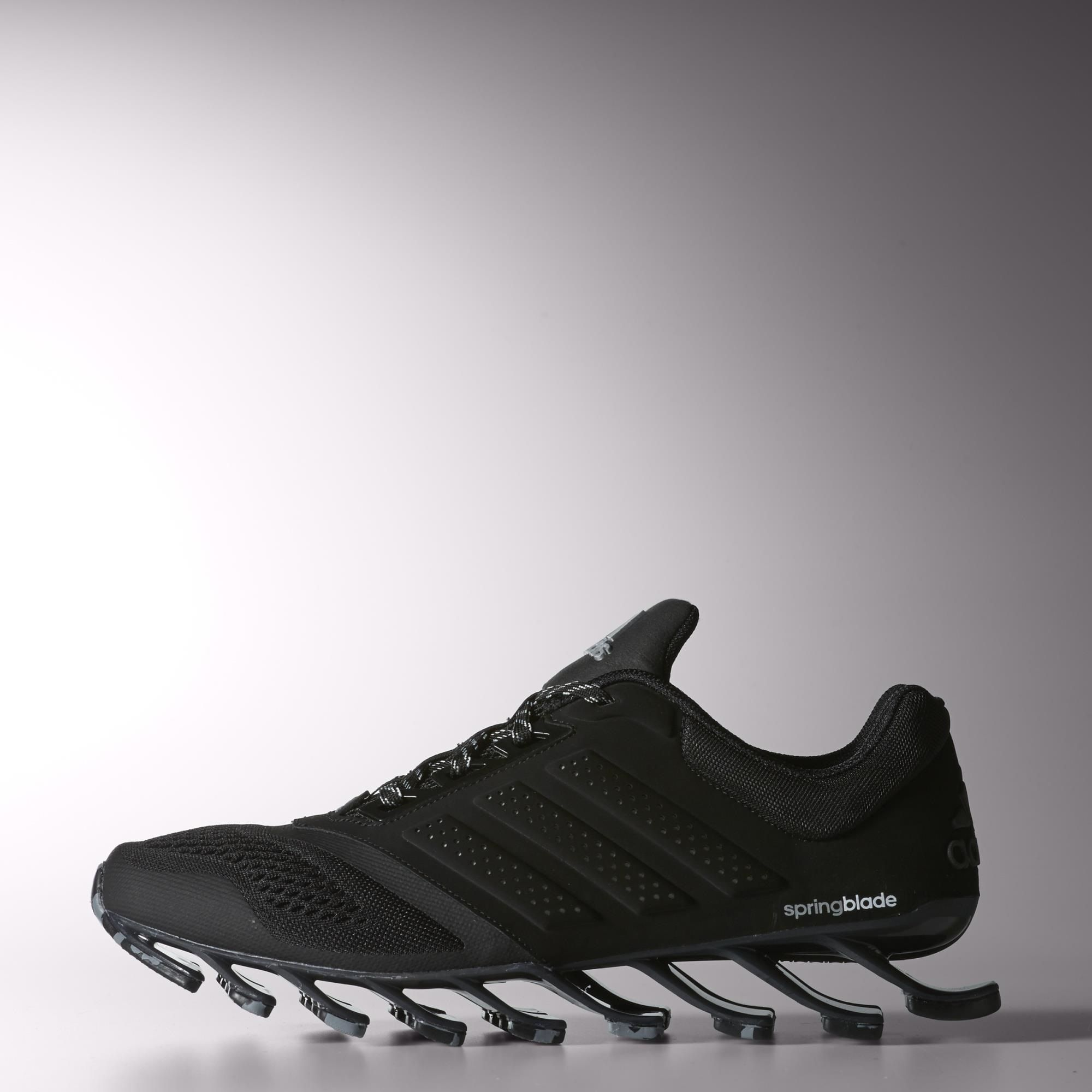 Adidas Springblade II Lauf Damen Schuhe rot und schwarz