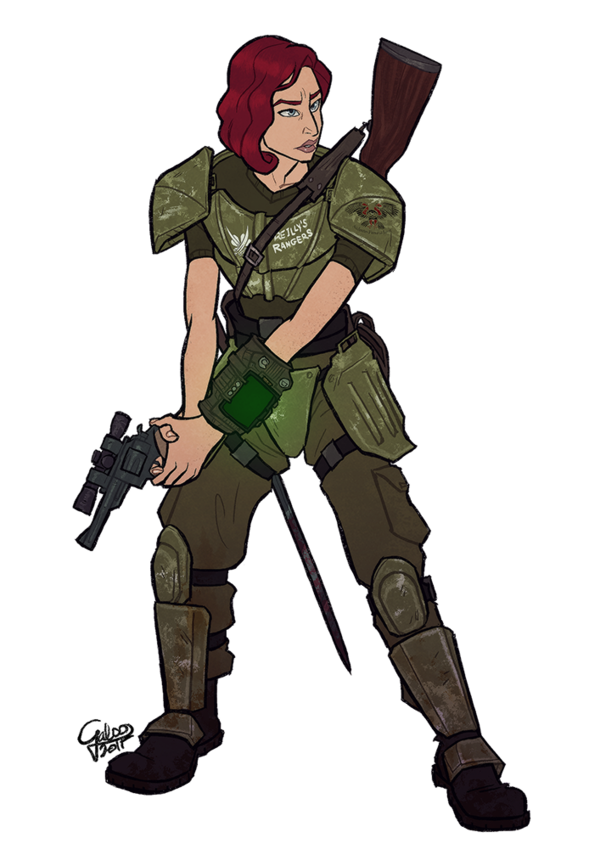 Commission Ashley By Galoogamelady On Deviantart Fallout Art Fallout Cosplay Character Art