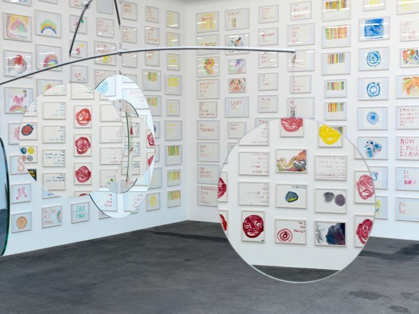 Jeppe Hein 7 Dimensional Mirror Mobile Art Fine Art Artist