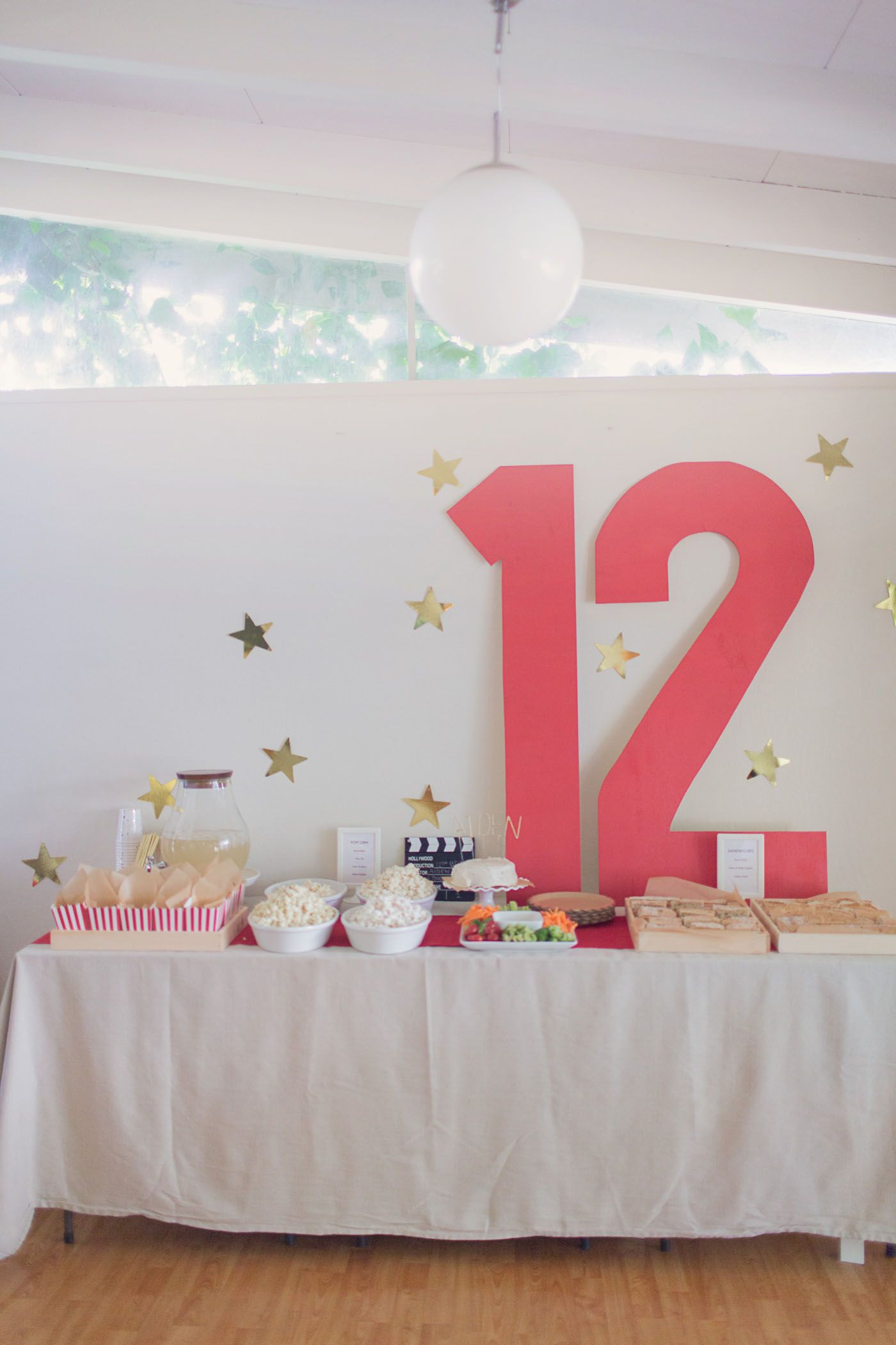 Aiden S Movie Birthday Movie Theme Birthday Party Birthday