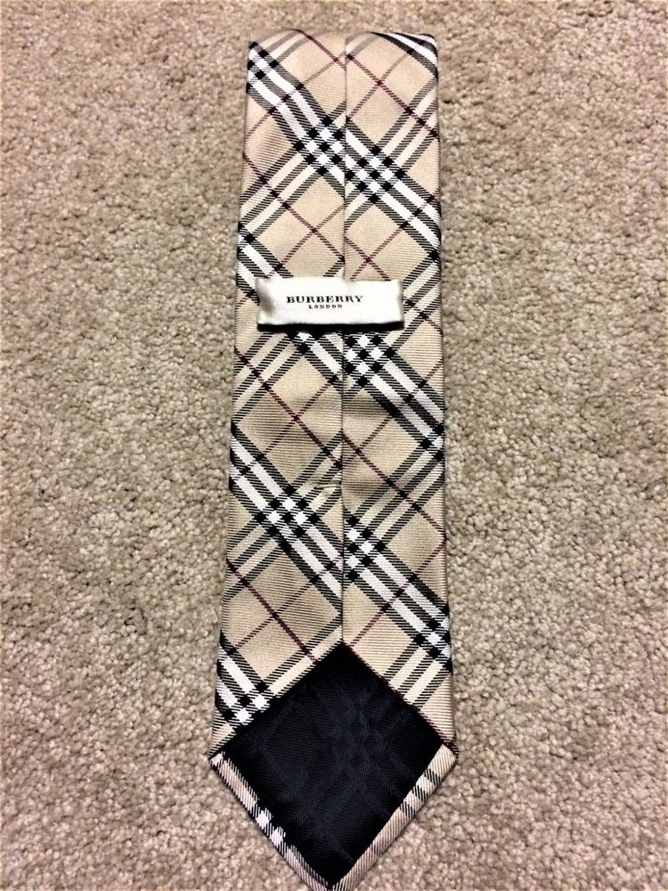 131c67ffdf41 BURBERRY LONDON - Nova Check Plaid 100% Silk Neck Tie #fashion #clothing  #shoes #accessories #mensaccessories #ties (ebay link)