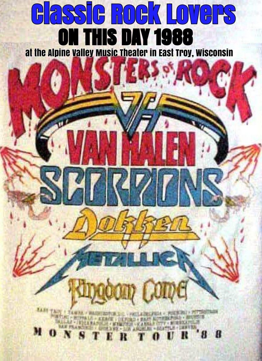 Pin By Dia On Classic Rock Lovers Van Halen Vintage Concert Posters Rock Concert
