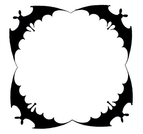 Halloween Clip Art Borders Free Printable Frames Clipart Black And White Pictures Images Borders For Microso Halloween Frames Halloween Clips Halloween Borders