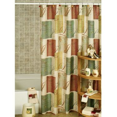Tranquility Inspirational Shower Curtain And Hooks With Images Shower Curtain Curtains Beautiful Bathrooms