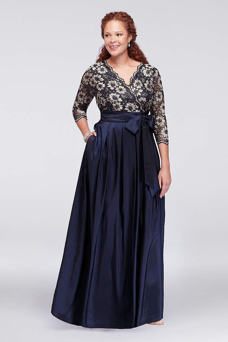 Plus size dresses for a wedding  Find the perfect womenus plus size dresses at Davidus Bridal for any
