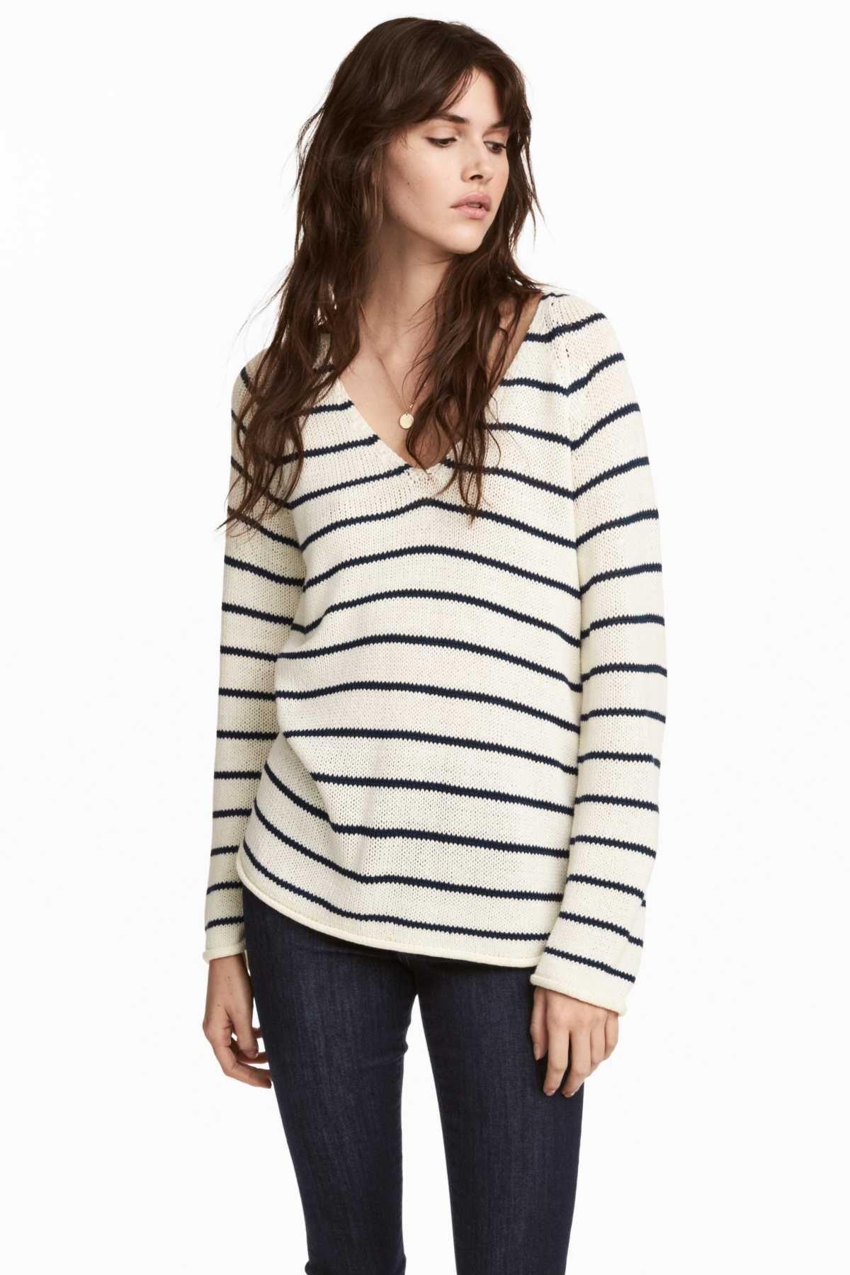 e5dba8a561 White blue striped. Soft