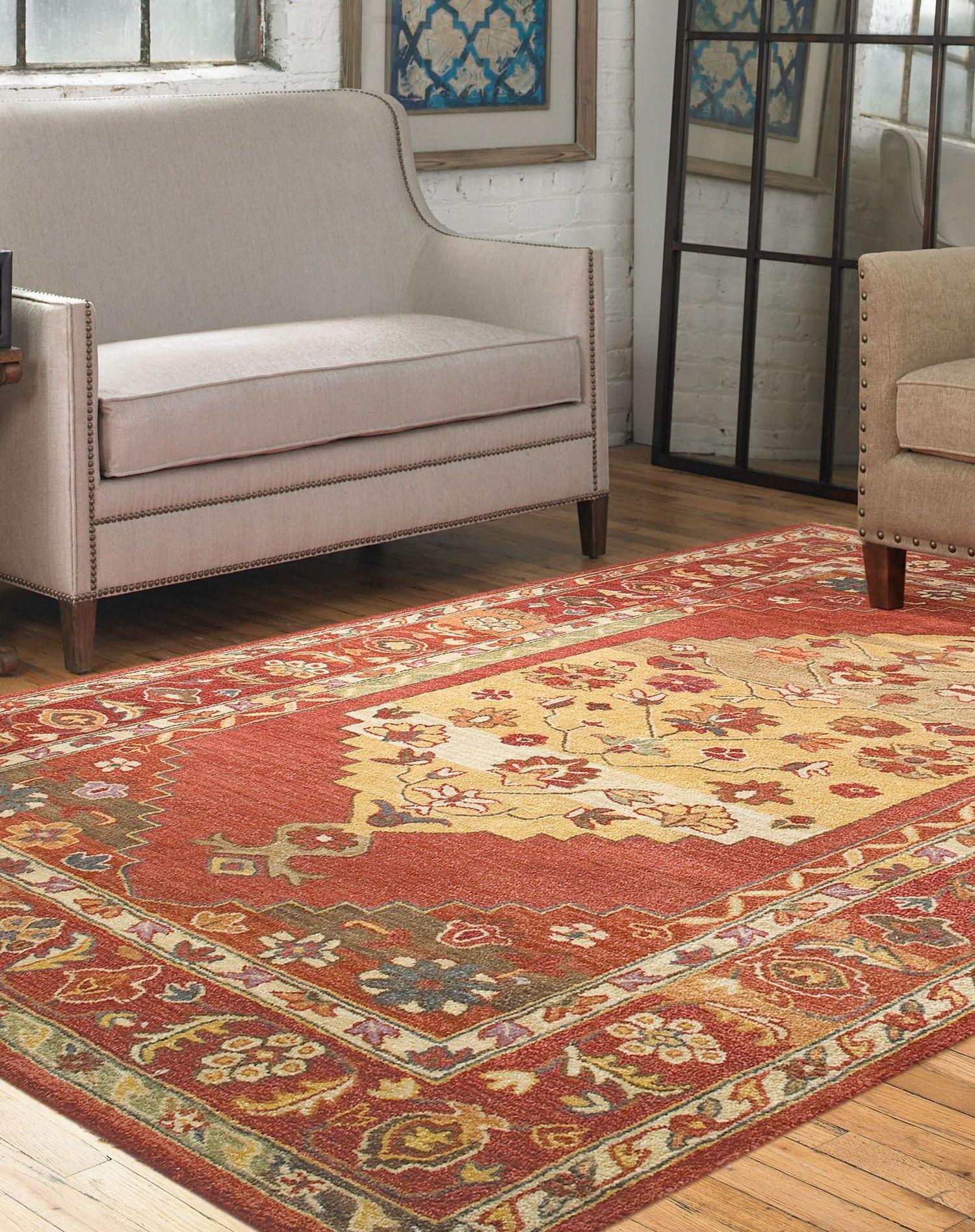 Estelle Red 100 Cut Wool Area Rug Home Decor Ideas Wool Area