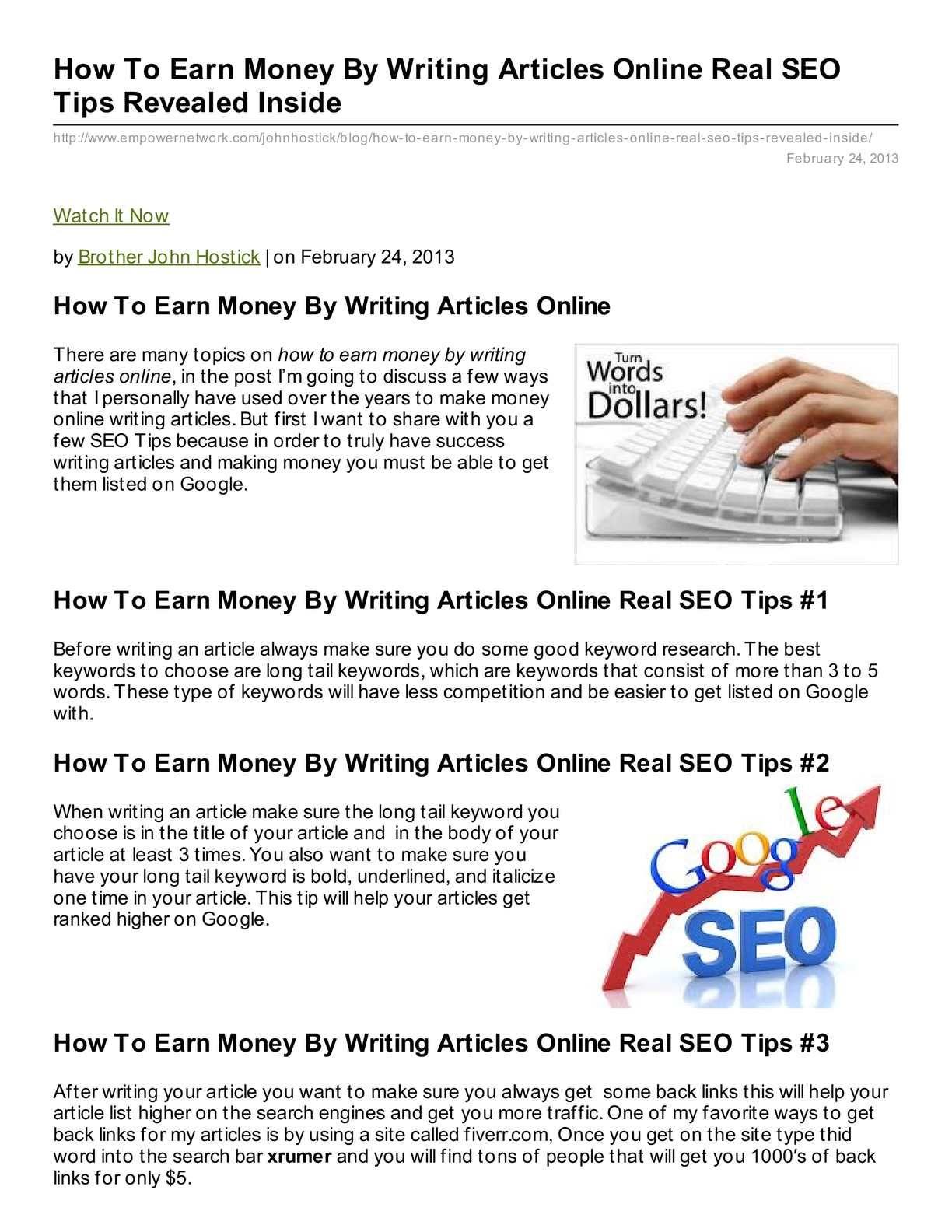best way to make money online usa and make money online