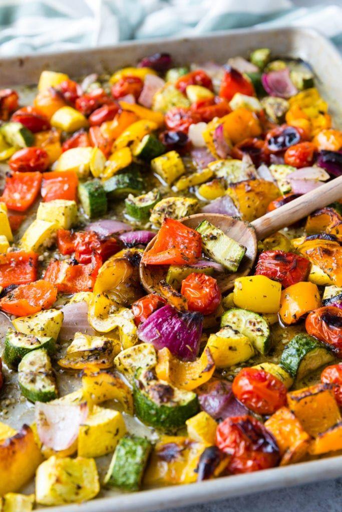 Roasted Greek Vegetables – Easy Peasy Meals