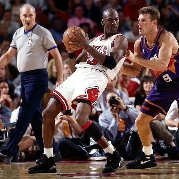 9f914f47c6e0 Michael Jordan and Dan Majerle - Phoenix Suns