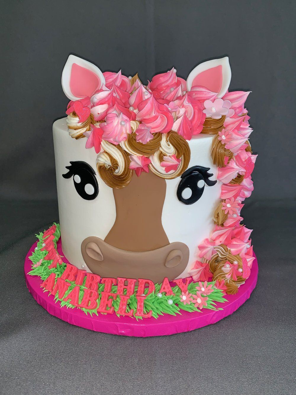 Awe Inspiring Baby Horse Cake Skazka Desserts Bakery Nj Custom Birthday Funny Birthday Cards Online Ioscodamsfinfo